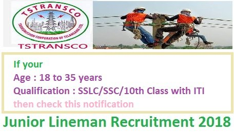 TSTRANSCO JLM Recruitment 2018 Syllabus