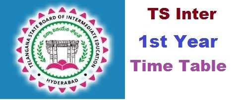 TS Inter 1st Year Time Table 2020 Manabadi Exam Dates Download