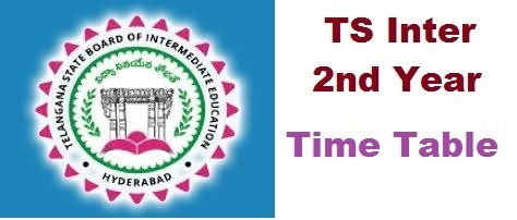TS Inter 2nd Year Time Table 2020 Exam Dates Manabadi Download